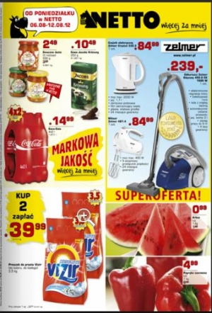 Netto od 06.08 do 12.08