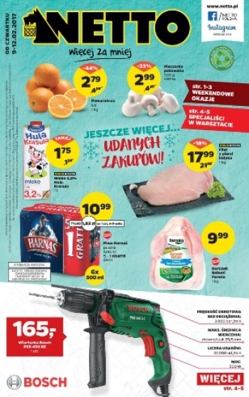 Netto od 9.02 do 12.02