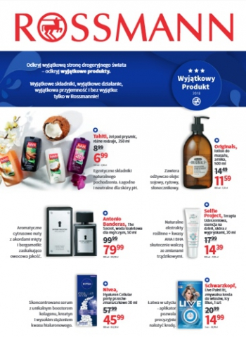 Rossmann od 9.04 do 18.04