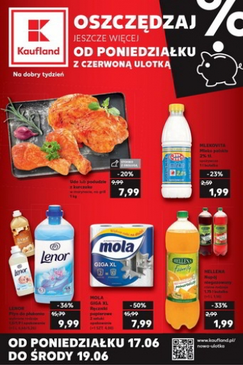 Kaufland od 17.06 do 19.06