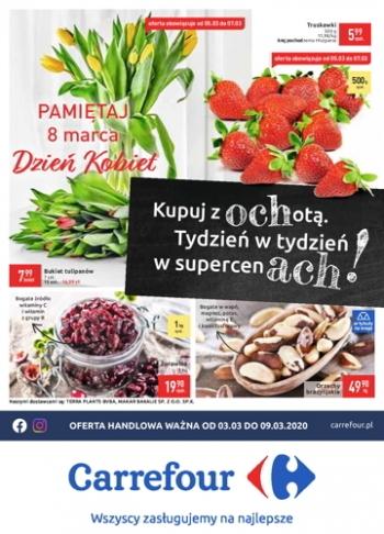 Carrefour od 3.03 do 9.03 GazetkaPromocyjna24