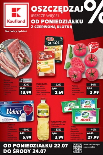 Kaufland od 22.07 do 24.07