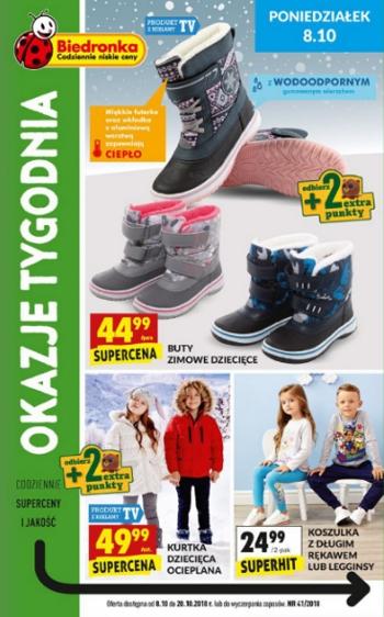 Promocje Buty Zimowe Dzieciece Gazetkapromocyjna24