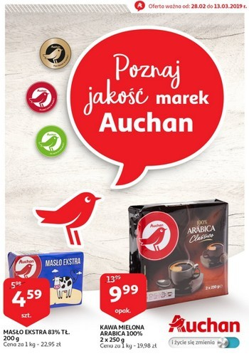 Auchan od 28.02 do 13.03