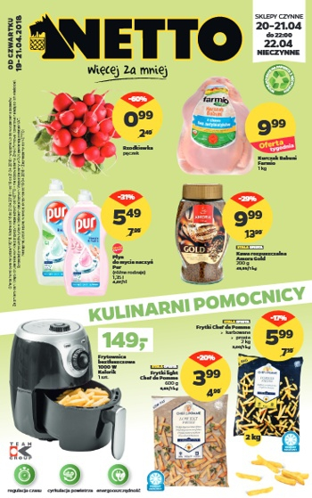 Netto od 19.04 do 21.04