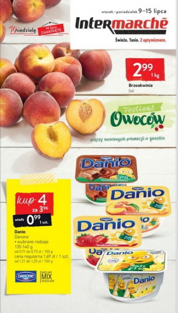 Intermarche od 9.07 do 15.07