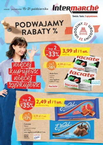 Intermarche od 15.10 do 21.10