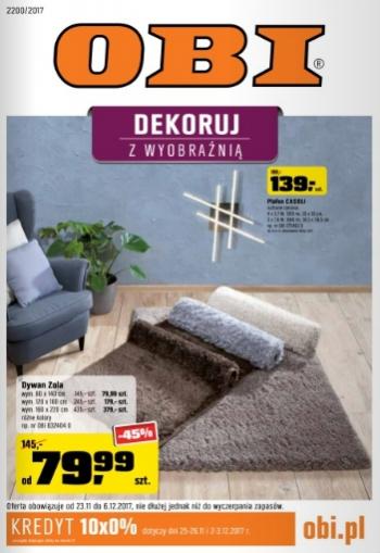 Obi Od 2311 Do 612 Gazetkapromocyjna24