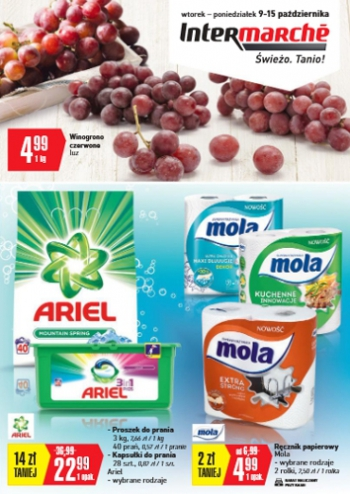 Intermarche od 9.10 do 15.10