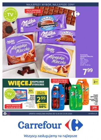 Carrefour od 12.05 do 23.05