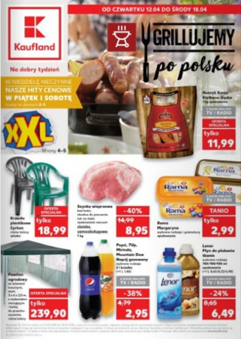 Kaufland od 12.04 do 18.04