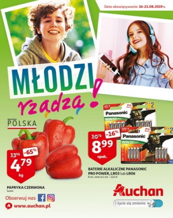 Auchan od 16.08 do 21.08