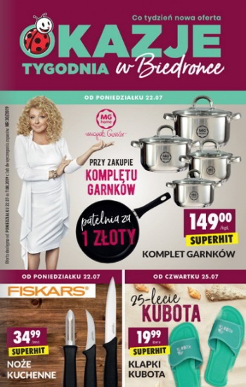 944daf5fbeed67 Gazetka Biedronka - Aktualna oferta promocyjna - GazetkaPromocyjna24