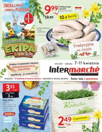 Intermarche od 7.04 do 11.04