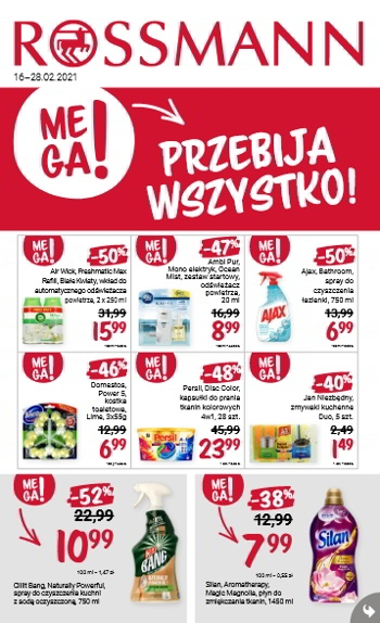 Rossmann od 16.02 do 28.02
