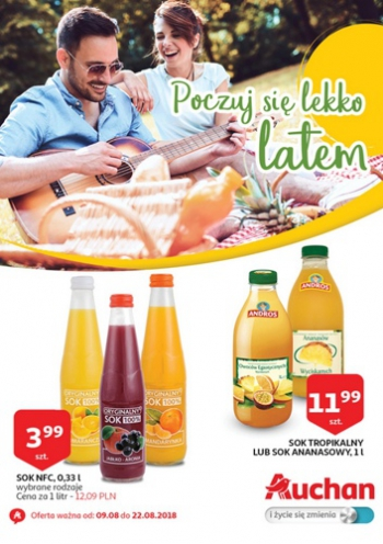 Auchan od 9.08 do 22.08