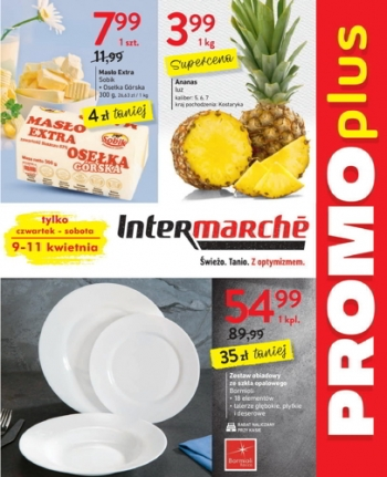 Intermarche od 9.04 do 11.04
