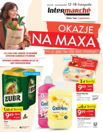 Intermarche od 12.11 do 18.11