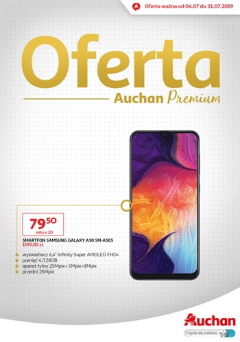 Auchan od 4.07 do 31.07