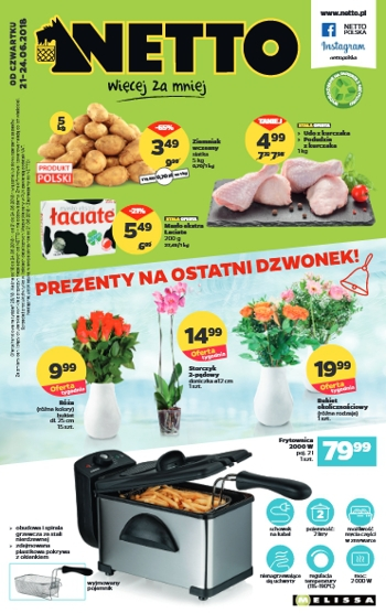 Netto od 21.06 do 24.06