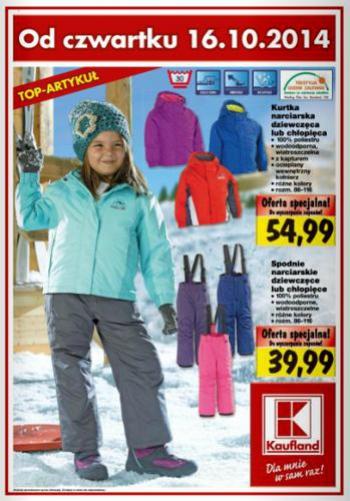 kaufland spodnie narciarskie