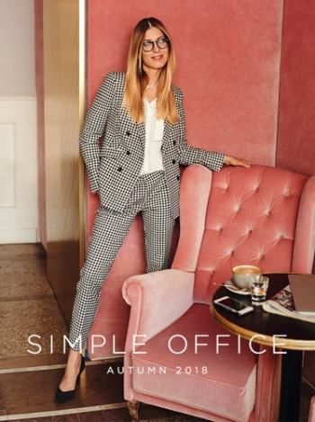 Lookbook Mohito Simple Office Jesień 2018