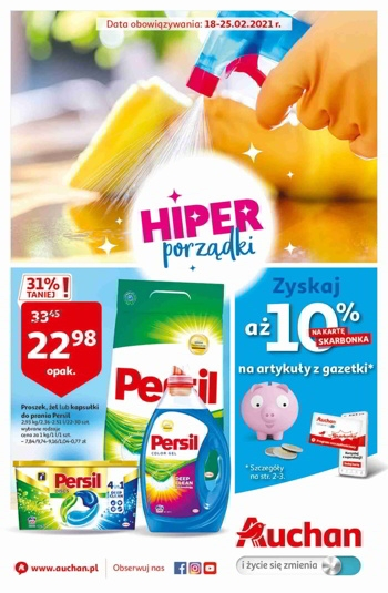 Auchan od 18.02 do 25.02