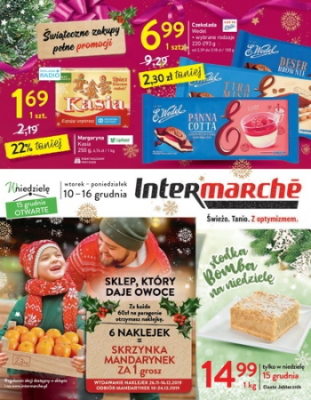 Intermarche od 10.12 do 16.12