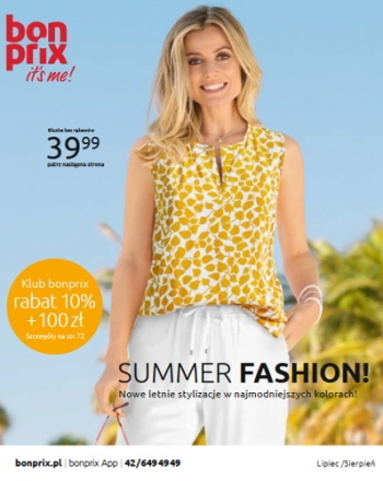 Katalog Bon Prix - Summer Fashion