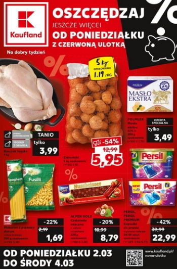 Kaufland od 2.03 do 4.03