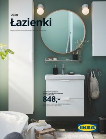 Katalog Ikea łazienki 2020 Gazetkapromocyjna24