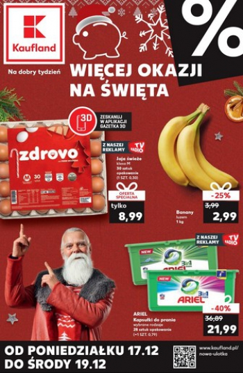 Kaufland od 17.12 do 19.12
