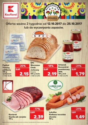 Kaufland od 12.10 do 25.10