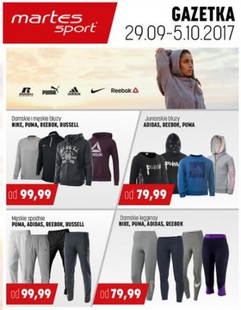 o rozsądnej cenie za pół buty do biegania Promocje: gazetka Martes Sport - GazetkaPromocyjna24