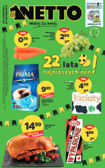 Netto od 21.09 do 24.09
