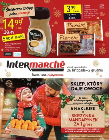 Intermarche od 26.11 do 2.12
