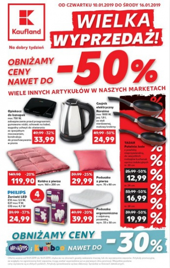 Kaufland od 10.01 do 16.01