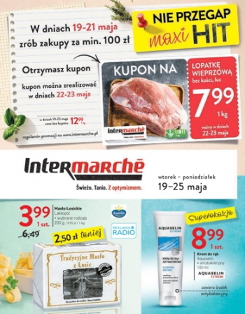 Intermarche od 19.05 do 25.05