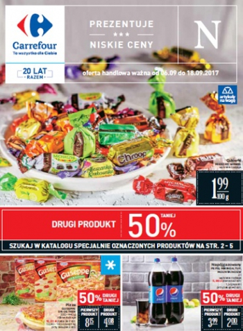 Carrefour od 6.09 do 18.09