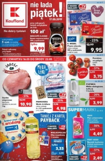 Kaufland od 16.05 do 22.05