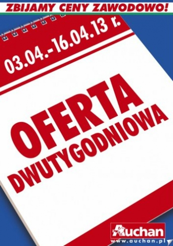Auchan Od 304 Do 1604 Gazetkapromocyjna24