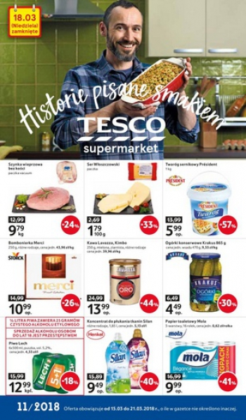 Tesco od 15.03 do 21.03