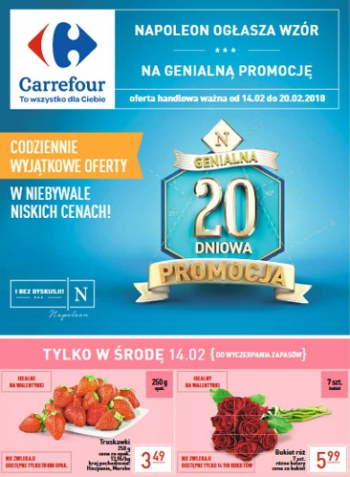 Carrefour od 14.02 do 20.02