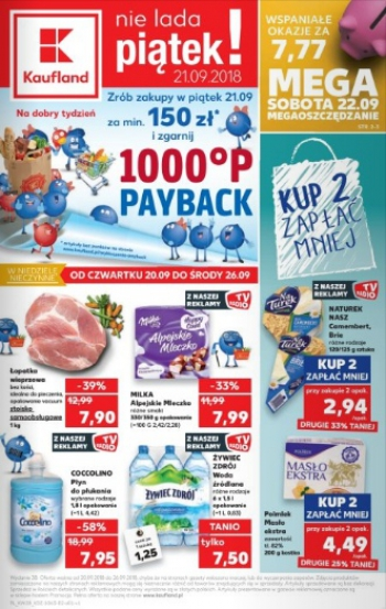 Kaufland od 20.09 do 26.09
