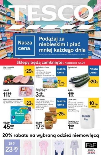 Tesco od 9.01 do 15.01