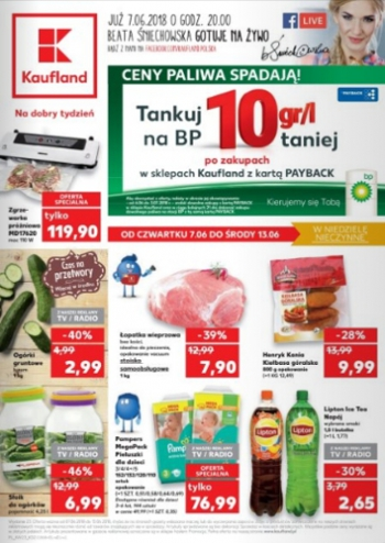 Kaufland od 7.06 do 13.06