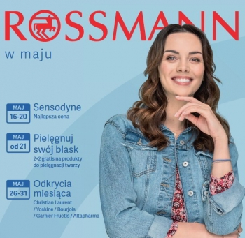 Rossmann od 16.05 do 31.05