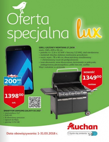 Auchan od 1.03 do 31.03