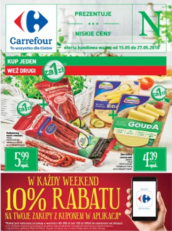 Carrefour od 15.05 do 27.05