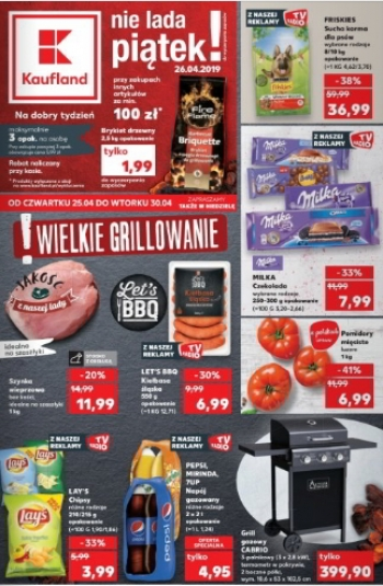 Kaufland od 25.04 do 30.04